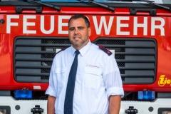 Benjamin Pätz, Pressesprecher Feuerwehr Sigmaringen