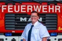 Daniela Stroppel, Jugendfeuerwehrwartin Jugendfeuerwehr Sigmaringen/Leiterin der Kinderfeuerwehr