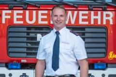 Nils Fritze, Abteilungskommandant Feuerwehr Sigmaringen Abteilung Stadt