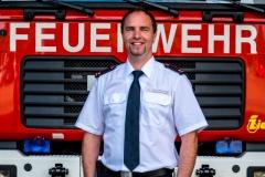 Stefan Strobel, Stellv. Abteilungskommandant Feuerwehr Sigmaringen Abteilung Stadt